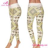 Geometric Pattern Printing Sexy Women Legging