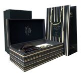 Luxury Handmade Paper Package Box Paper Gift Box for Wine