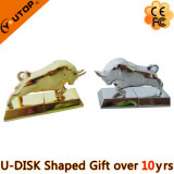 Cow Metal USB Flash Drive for Metal Present (YT-3703)