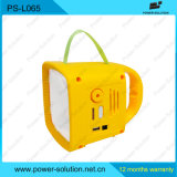 2015 New LED Solar Emergency Light Radio for Lighting & Radio Using