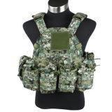 2017 1000d Nylon Multi-Pockets Tactical Muticam Vest