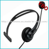 Cheapest Monaural One Side Wired Call Center USB Headset