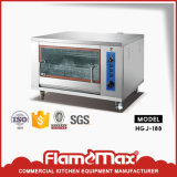 Restaurant Stainless Steel Gas Rotisserie for Chicken Grill Oven Hgj-188