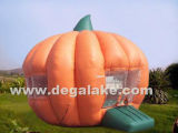 Inflatable Pumpkin Bounce House, Jumping Bouncer, Bouncy Castle