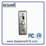 Stainless Steel No Nc COM Door Button Blue Backlight (SB4KR)