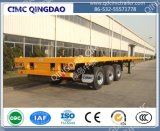 Cimc Brand 2/3axles 40FT Flatbed Semi Trailer