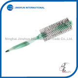 Salon Fashion Cylinder Pointed Tail Plastic Hair Comb Brush