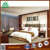 Customized Brwon Beech Wood Modern Hotel Bedroom Furniture