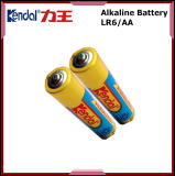 Double AA Alkaine Battery 1.5V Lr6 for Remote Control