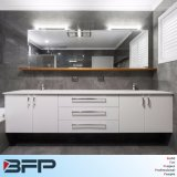 Plastic Hanging New Bath Vanity Graceful Modern PVC Bathroom Cabinet