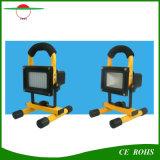 Outdoor 5W portable Solar Flood Light with 54PCS Brightness LED AC Charge Indoor Solar Flood Lamp Handle Fishing Solar Lighting