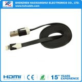 High Quality Flat Wire Data Sync/Transfering USB Cable