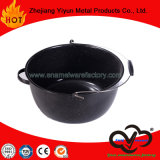 16qt Enamel Stock Pot with Carrying