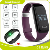 Touch Button Heart Rate Sleep Monitor Calorie Burning Pedometer Bluetooth Watch