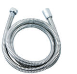 Double-Stainless Steel Button Adjustable-Pipe Flexible Hose (F1/2XF1/2)