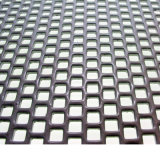 Metal Wire Mesh in Square Hole Perforated Style