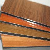 Wooden Texture Aluminum Wall Cladding