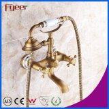 Fyeer Bathroom Antique Telephone Faucet Shower Mixer Kit