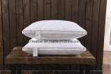Cheapest Comfortable Supportive and Soft Goose/Duck Down Feather Pillow with Golden Side