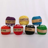 Dyed Colorful Hemp Twine for Craft (HT-1mm)
