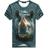 3D Printing Beast Crew Neckt Shirt Wholesale