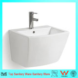 Bathroom Ceramic One Piece Wall Hung Basin