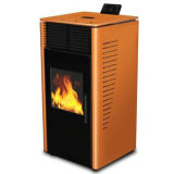 2013 New Style Italy Designed Wood Pellet Stove with CE Certificate (CR-07)