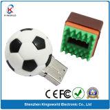 PVC Sport Football USB Flash Drive