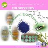 Chlorpyrifos(97%TC, 40.8%EC, 480EC, 240ULV, 450ULV, 300CS, 400CS)