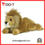Cuddly Sitting Animal Stuffed Plush Toy Lion