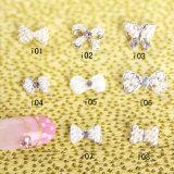 Shiny Bow Nail Art Alloy Stricker Jewelry Glitter DIY Decoration
