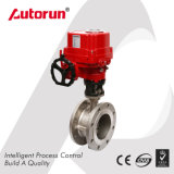 Explosion Proof Electrical Three Eccentric Flange Butterfly Valve