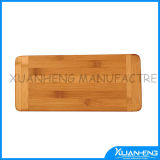 Natural Nanzhu Chopping Block with Kitchenware