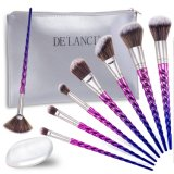 Makeup Brush Set with Silicone Pat as Travelling Set
