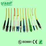 Hot FTTH Fiber Optic Cable Patch Cord, Sc/LC/St/FC/Mu/MT-RJ, The PC/Upc Type Strenth Factory