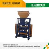 Small Cement Brick Press Machine Qt40-1