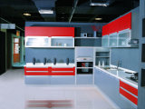 Welbom Red Laquer Classic Best Selling Kitchen Furniture