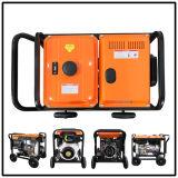 5kw Diesel Generator Set with High Technology (Big Wheels)