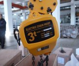 Kito Type Electric Lifting Motorized or Manual Beam Trolley Mounted Chain Hoist