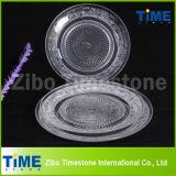 Hot Sale Transparent Glass Fruit Plate