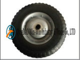 10 Inch Airless Rubber Wheel for Hand Trolley Made in China