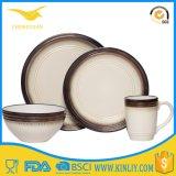Easy Clean Practical Festive Item Plastic Melamine Dinner Plate