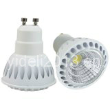 New Arrival 7W Super Bright COB LED Spot Light GU10 Bulb