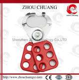 Safety Locksmith Tools Hardened Steel Shackle Lock Hasp with Hook