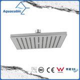 Square ABS Chromed Water Saving Top Rain Shower (ASH733)