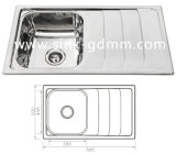Stainless Steel Kitchen Sink (NH316CT)