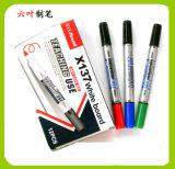 Two Head Whiteboard Marker Pen (X-137) , Double Head Dry Eraser Pen