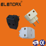 European Style 2 Pin Electric Plug Adaptor (P7031)