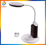 Fashion Designed LED Lamp Table with Magnifier, Three Steps Dimming