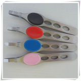 Artificial Colour Coated/Eyebrow Tweezers (VE15001)